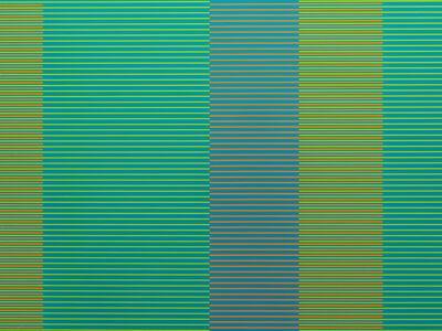 Matthew Kluber, 'Split Infinitives (blue, yellow, orange)', 2019