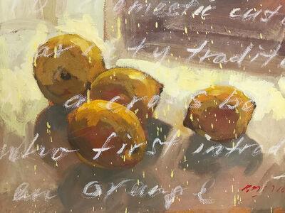 Baet Yeok Kuan 麦毓权, 'Study of 4 Lemons I', 2016