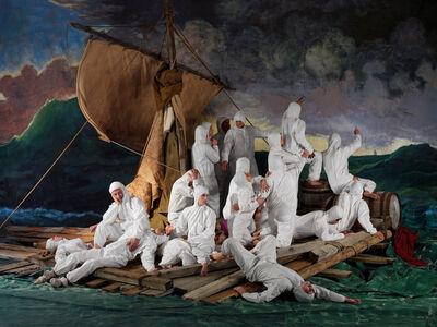 Adad Hannah, 'Raft of the Medusa (PPE) 1 ', 2020
