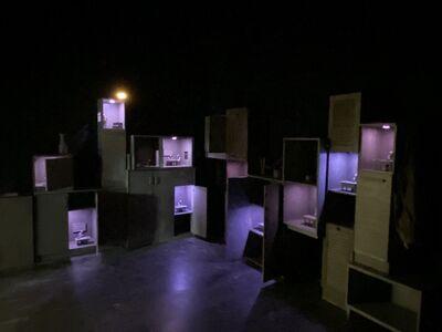 Isaac Cordal, 'Wall Enclosure', 2020
