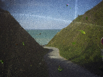 Abelardo Morell, 'Tent-Camera Image on Ground: View Of Le Petit Ailly Near Varengville-Sur-Mer, France', 2016