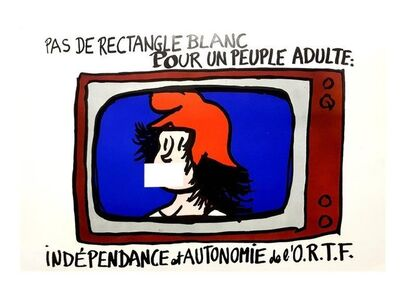 """UNKNOW, 'Original French Poster of Mai 68 """"Marianne""""', 1968"""