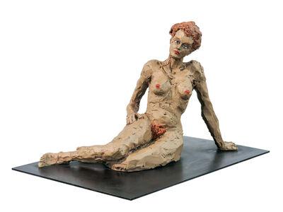 Stephan Balkenhol, 'Liegende Frau (Reclining Woman)', 2012