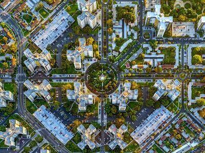 Jeffrey Milstein, 'LA 12 (Park la Brea)', 2014