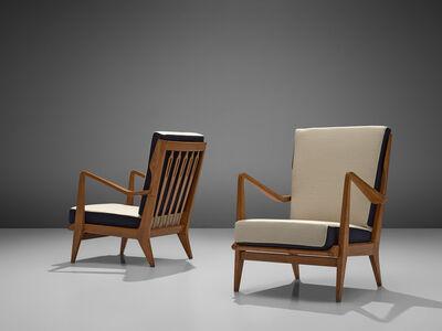 Gio Ponti, 'Pair of Lounge Chairs Model 516', 1950s