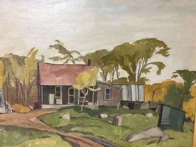 A.J. Casson, 'Cabin near Cushing, Que.', 1966