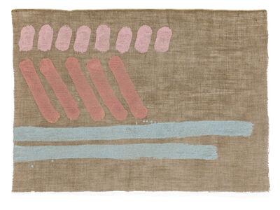 Giorgio Griffa, 'Tre segni', 1979