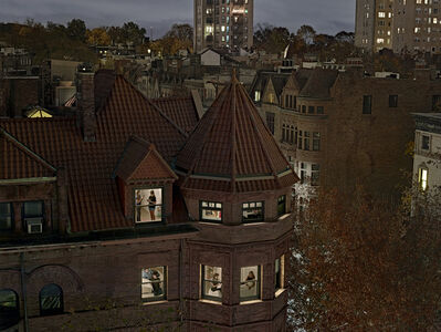 Gail Albert Halaban, 'Chiclet Mansion, Park Slope, Brooklyn. ', 2016