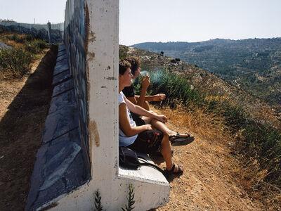 Shai Kremer, 'Kids Smokes, Shooting Defence Wall, Gilo Neighbourhood, Jerusalem, 2004', 2004