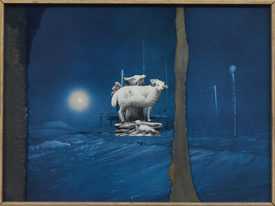 Joseph Cornell, 'The Journeying sun (For Samuel Taylor Coleridge)', ca. 1963