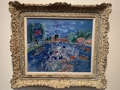 Raoul Dufy, 'Regatta at Henley', 1930