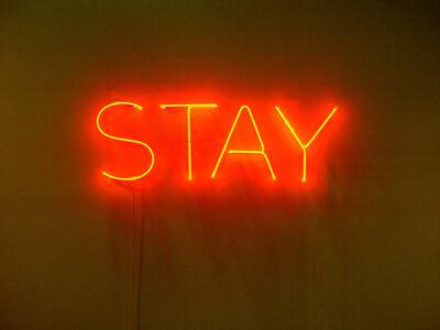 Lori Hersberger, 'STAY', 2003