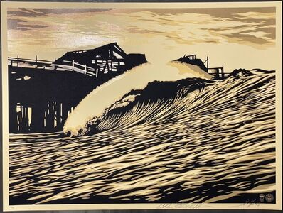 Shepard Fairey, 'Shepard Fairey POP Wave Print 2016 & C.R. Stecyk III Street Art & Contemporary 2016', 2016
