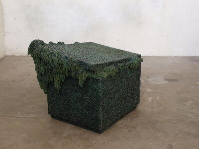 Gereon Krebber, 'Geh jetzt bitte (Grüne Kiste)', 2012
