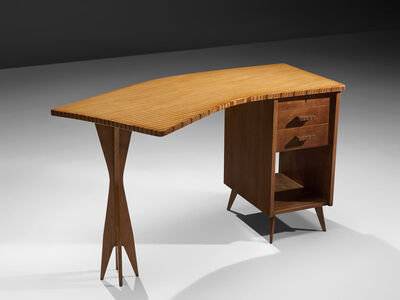 Unknown Artist, 'Italian Custom-Made Writing Desk and Chair', 1950s