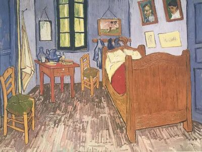 Vincent van Gogh, 'Bedroom 1889 ', ca. 2000