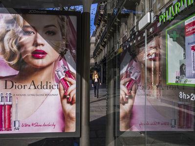 """William Albert Allard, '""""Bus stop, Rue de Turbigo,"""" Paris, 2016', 2016"""