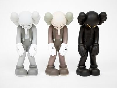KAWS, 'Small Lie (Complete Set of Three)', 2017