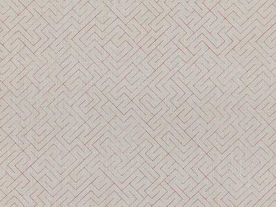 Anni Albers, 'Triangulated Heavy Linen in red (186U)', 2019