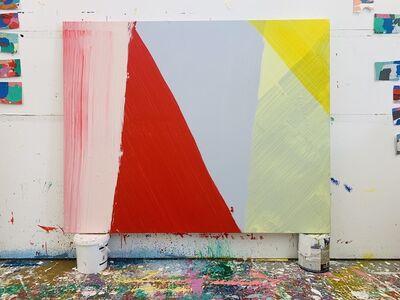 Cat Balco, 'Red & Yellow Zigs', 2020