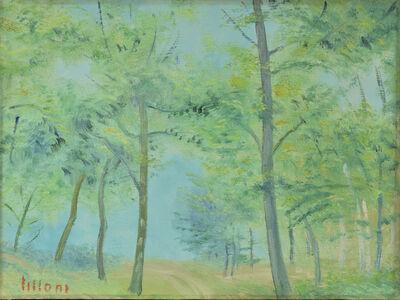 Umberto Lilloni, 'Paesaggio Svizzero', 1968