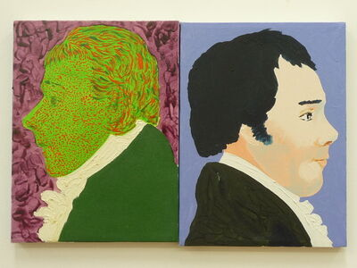Thomas Lawson, 'Two Young Poets (Scott and Burns)', 2001-2003