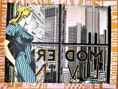 Shepard Fairey, 'Modern Living', ca. 2020
