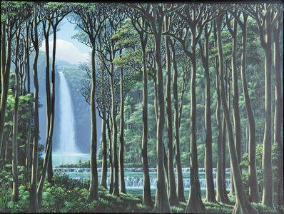 Tomás Sánchez, 'Silencio y Cascada', 1995