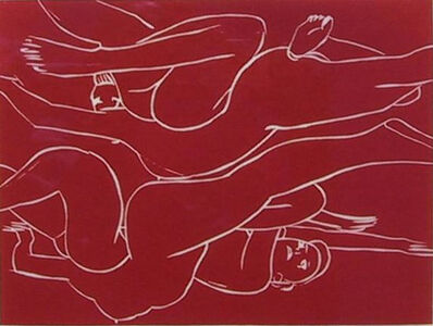 Luciano Castelli, 'Toskana Rot (E/A)', 1995-2000