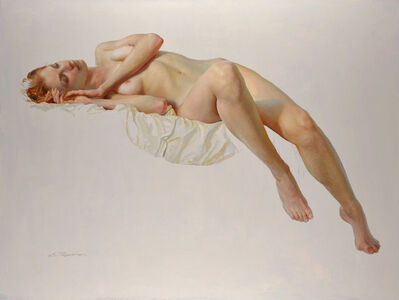 """Serge Marshennikov, '""""Nude Model in Artist's Studio""""', 2017"""