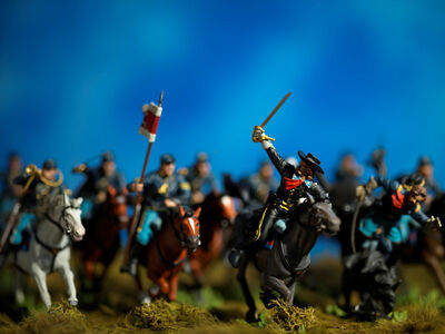 David Levinthal, 'History, Custer's Charge', 2015