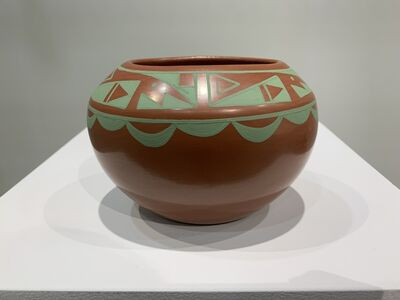 object artist, 'Native American pottery, San Ildefonso Pueblo', 2019