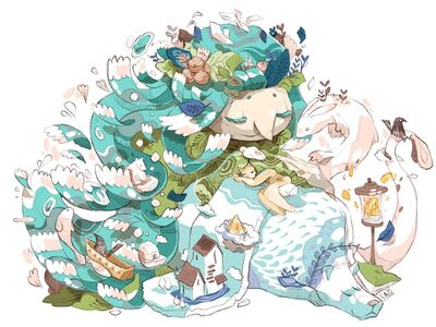 Bao Ho, 'Nature goddess', 2020