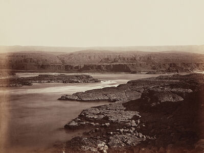 Carleton E. Watkins, 'The Passage of the Dalles, Columbia River', 1867
