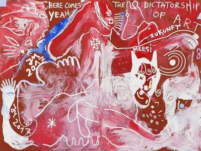 Jonathan Meese, 'THE CHIEF OF ART (DR. DALLAS) (DER PAKT MIT DER KUNST)', 2017