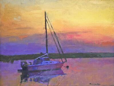 Larry Horowitz, 'Sailboat With Sunset Sky', 2017