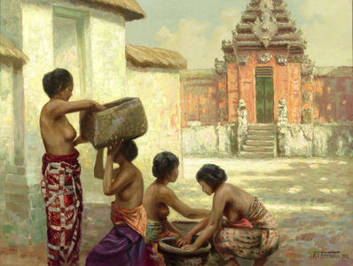 A. E. Herrmann, 'Bali', 1932