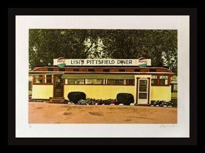 John Baeder, 'Lisi's Pittsfield Diner', 1980