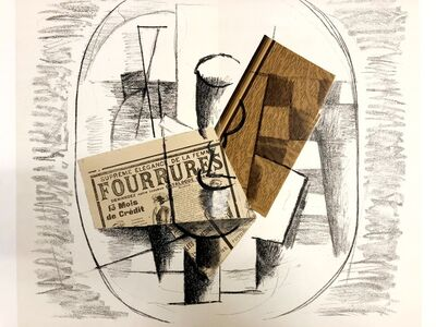 Georges Braque, 'Papiers collés', 1963