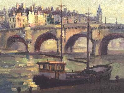 Leonard Mizerek, 'Across the Seine', 2017