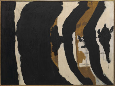 Robert Motherwell, 'Wall Painting No. III', 1953