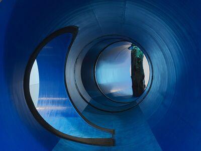 Oscar Tuazon, 'Une colonne d'eau - Life prototype', 2017