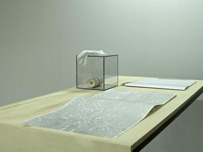 Andreea Ciobîcă, '10 meters of time (manuscript)', 2013