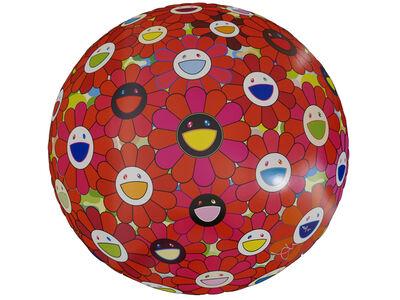 Takashi Murakami, 'Flowerball (3D) - Red Ball', 2013