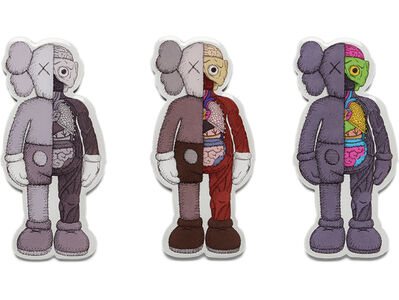 KAWS, 'KAWS x NGV Flayed Magnet (Set of 3)', 2019