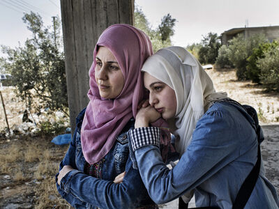 Laura Boushnak, 'Part of the series: I Read, I Write (Gaza)', 2016