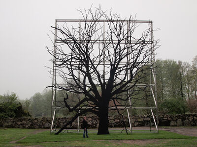 Roxy Paine, 'Facade / Billboard', 2012