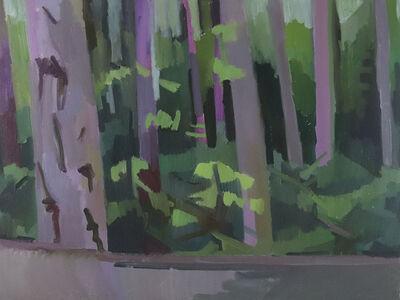 Kimberly Trowbridge, 'Doug Fir Forest, Pink', 2019