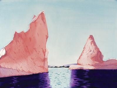 Scott Kelley (b. 1963), 'Icebergs, Hermit Island, Antarctica'