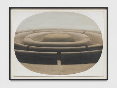 Horia Damian, 'La Cite Mandala dans un ovale', 1979